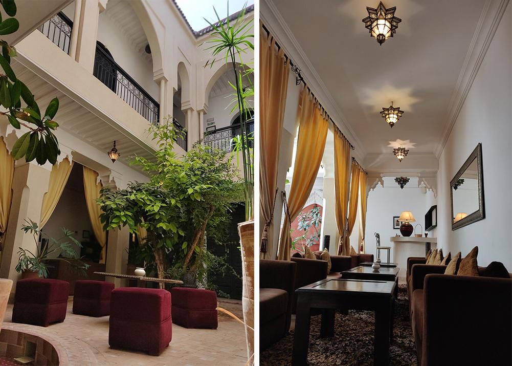 Riad Dar Foudnouk & Spa Courtyard